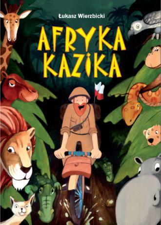 4. książka dla dzieci Afryka Kazika