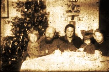 Kazimierz Nowak z rodziną